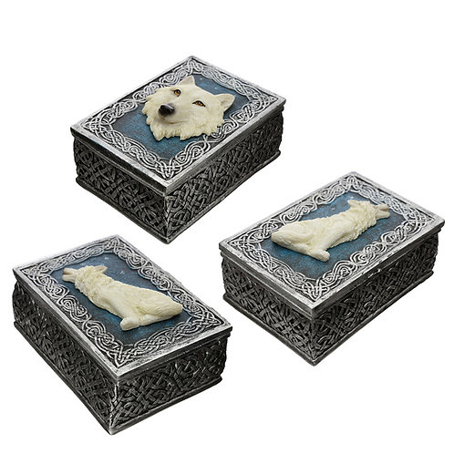 Wolf Trinket Box [ONE ONLY] Novelty Gift