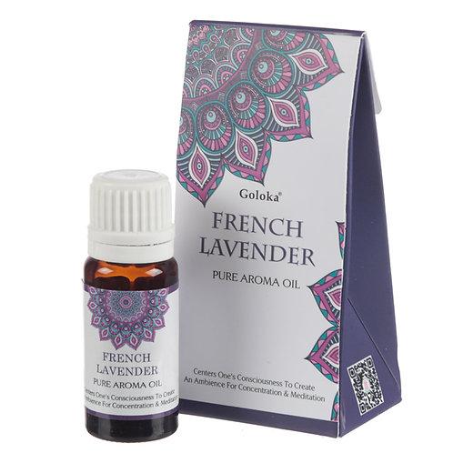 Goloka Fragrance Aroma Oils - French Lavender Novelty Gift