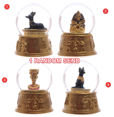 High Quality Novelty Decorative Egyptian Waterball Snow Globe