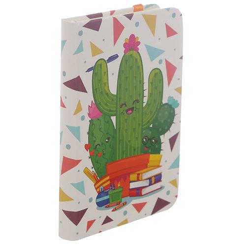 Cactus A6 Hardback Notebook Memo Book