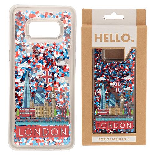 Samsung 8 Phone Case - London Icons Design Novelty Gift