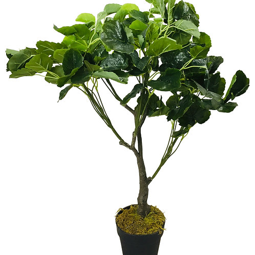 Artificial Money Bag Plant 77cm Shipping furniture UK