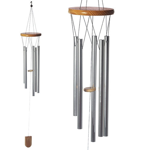 Decorative Metal Garden Wind Chime 88cm Novelty Gift