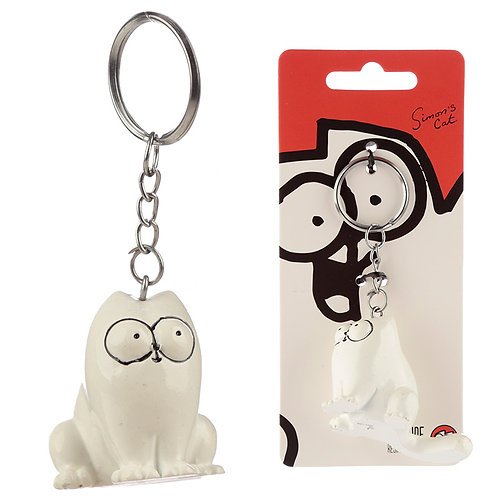 Fun Collectable Simon's Cat Keyring Novelty Gift