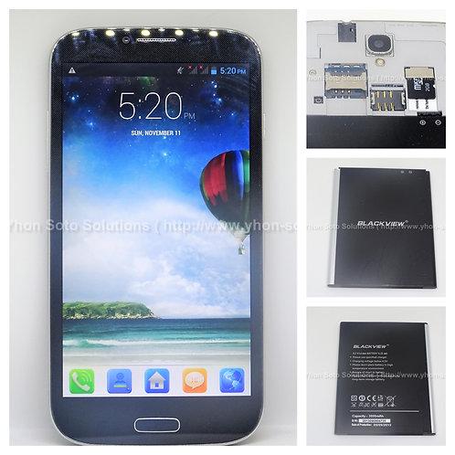 Blackview JK809 6.0 Inch 8G ROM Andriod 4.2 MTK6589T Unlocked Smart Phone Black