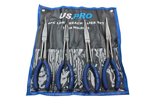 US Pro 4 Pc Long Reach Plier Set | DIY Bargains at Everyday Low Prices