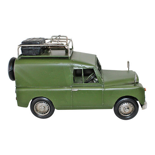 Vintage Style Expedition Vehicle Metal Ornament Shipping furniture UK