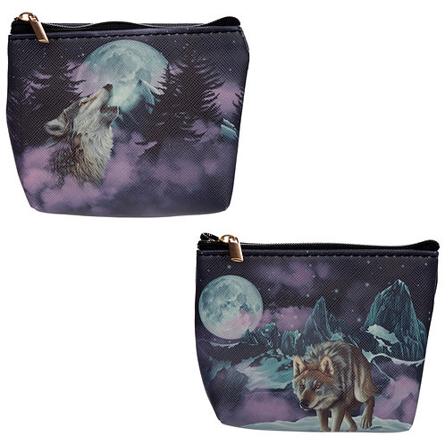 Handy PVC Purse - Guardian of the North Wolf Novelty Gift
