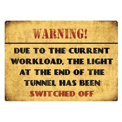 Current Workload Large Sign Shipping furniture UK