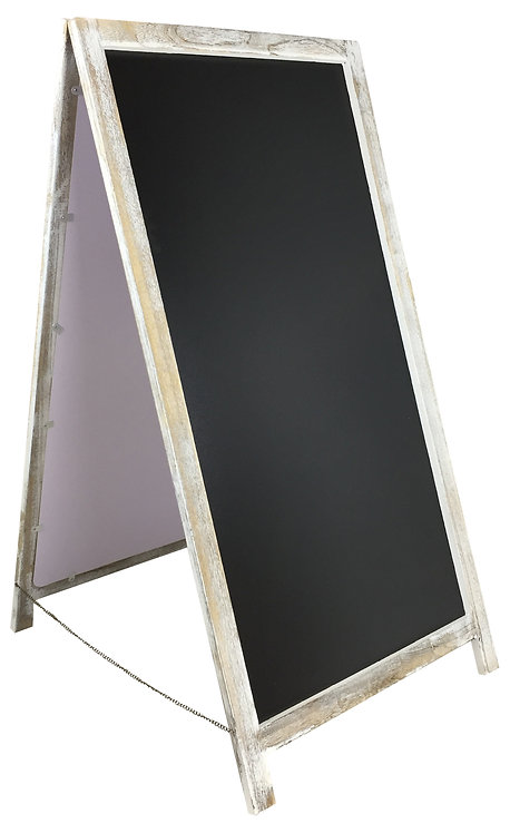 Fold Out Chalkboard Pavement Sign 98cm Shipping furniture UK