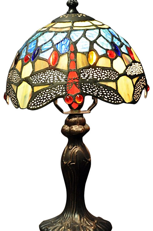 Blue Dragonfly Tiffany Lamp Shipping furniture UK