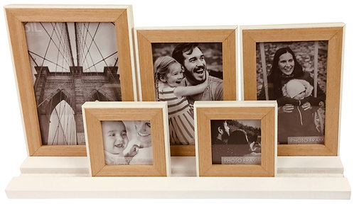 Five Frames on White Tray Base Shipping furniture UK