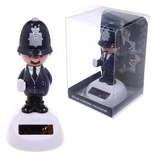 Novelty Gift  Policeman Solar Pal