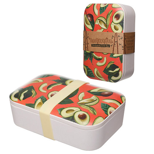 Bamboo Composite Avocado Lunch Box Novelty Gift