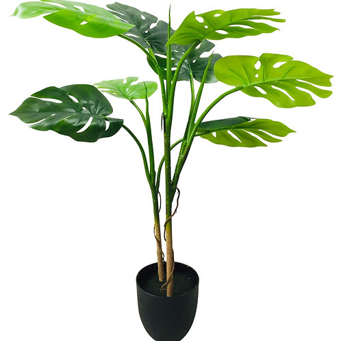Artificial Monstera Tree 100cm Shipping furniture UK