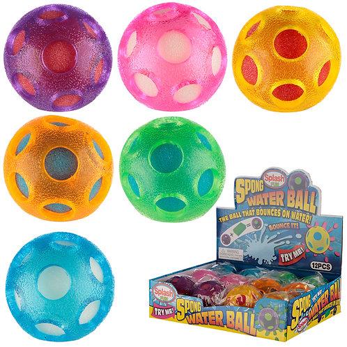 Fun Kids Bouncy Sponge Water Ball Novelty Gift