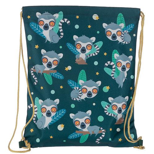 Handy Drawstring Bag - Lemur Mob Novelty Gift