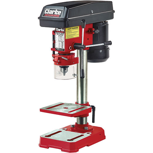Clarke CDP5RB 5 Speed Bench Mounted Pillar Drill (Red) | DIY Bargains