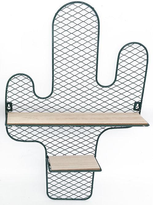 Cactus Wire Shelf Unit Green 50cm Shipping furniture UK