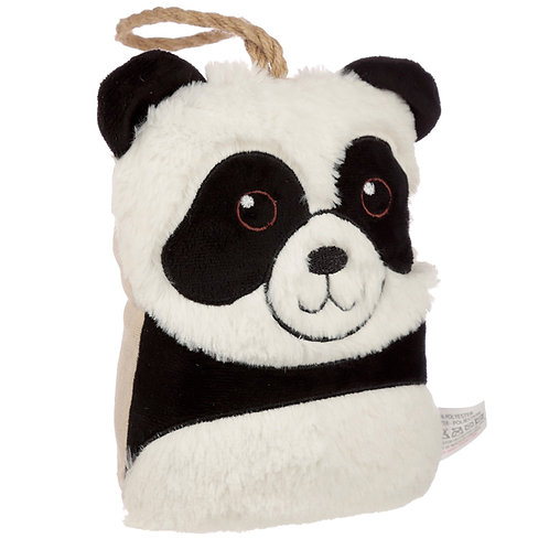 Interior Door Stop - Plush Panda Head Novelty Gift