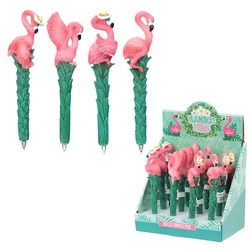 Fun Flamingo Novelty Pen Novelty Gift [Pack of 2]