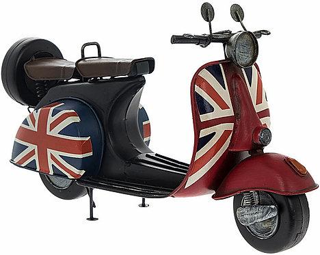 Vintage Union Jack Scooter Shipping furniture UK