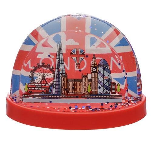 Collectable Snow Storm - London Union Jack Medium Novelty Gift
