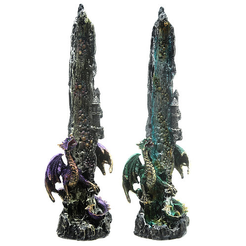 Decorative Incense Ashcatcher - Dragon Waterfall Novelty Gift