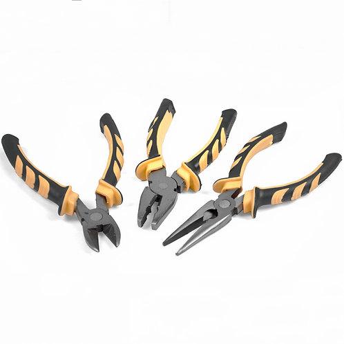 3 Pieces Soft Grip Pliers Set   Home Essentials UK