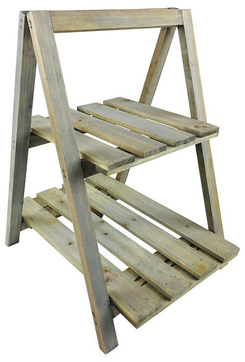 Wooden Greenwash Stand With Shelves Shipping furniture UK