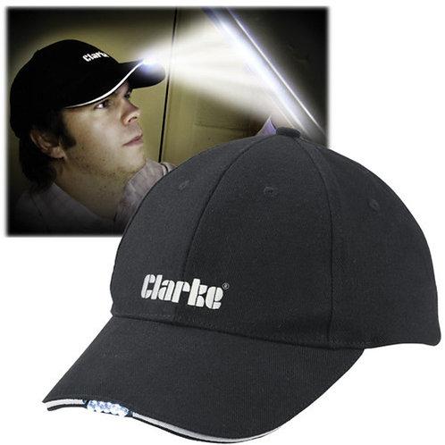 Clarke BBC-5 Baseball Cap with LED Lights   DIY Bargains