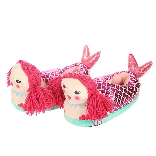 Mermaid Pair of Unisex Slippers Novelty Gift