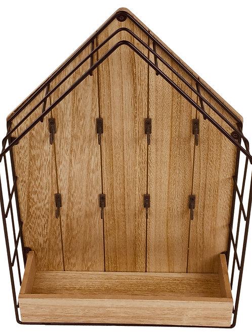 Wood & Wire House Key Storage Unit Shipping furniture UK