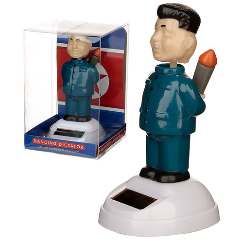 Collectable Rocket Man Solar Powered Pal Novelty Gift