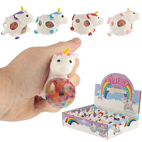 Fun Kids Unicorn Squeezy Mesh Ball Novelty Gift
