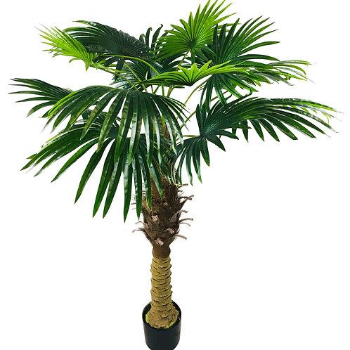 Artificial Fan Palm Tree 150cm Shipping furniture UK