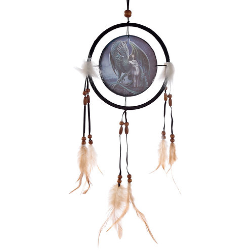 Lisa Parker Protector of Magick Dragon Dreamcatcher Small Novelty Gift