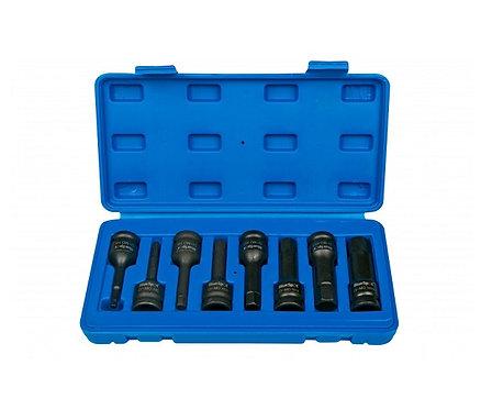 "BlueSpot 8 Pce 1/2"" Impact Hex Sockets (H5-H19) | DIY Bargains"