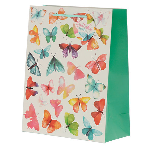 Butterfly House Large Gift Bag Novelty Gift