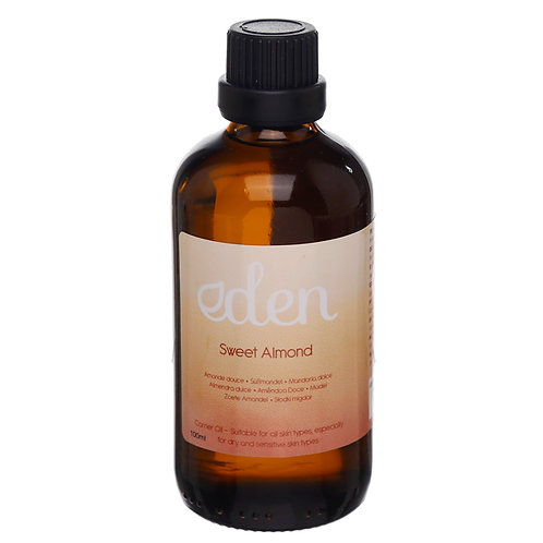 Essential Oil Carrier Oil - Sweet Almond 100ml Novelty Gift