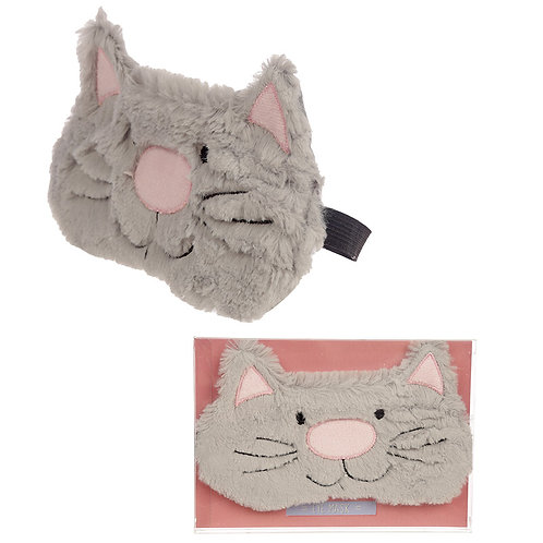 Novelty Gift Handy Eye Mask - Cute Cat Design