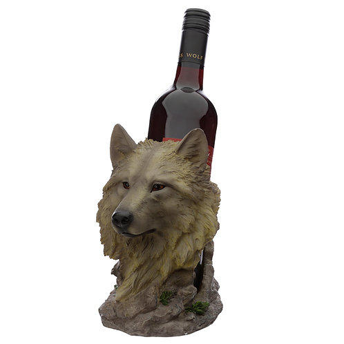 Midnight Dreamer Protector of the North Wolf Bottle Holder Novelty Gift