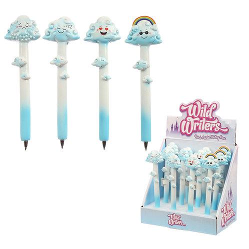 Novelty Gift Fun  Cloud and Rainbows Pen