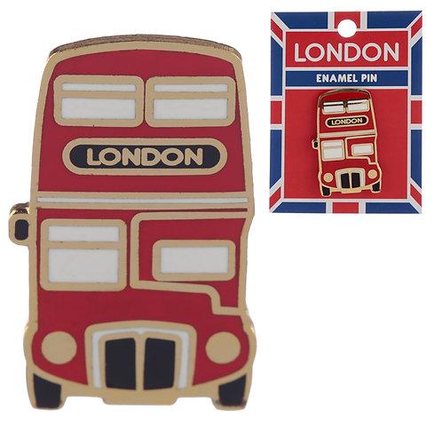 Novelty London Bus Design Enamel Pin Badge Novelty Gift