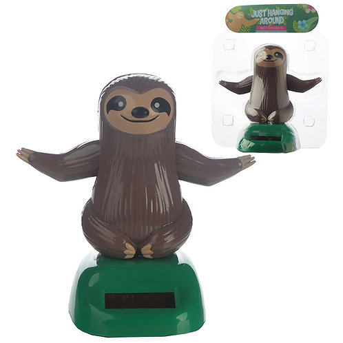 Collectable Sloth Solar Powered Pal Novelty Gift
