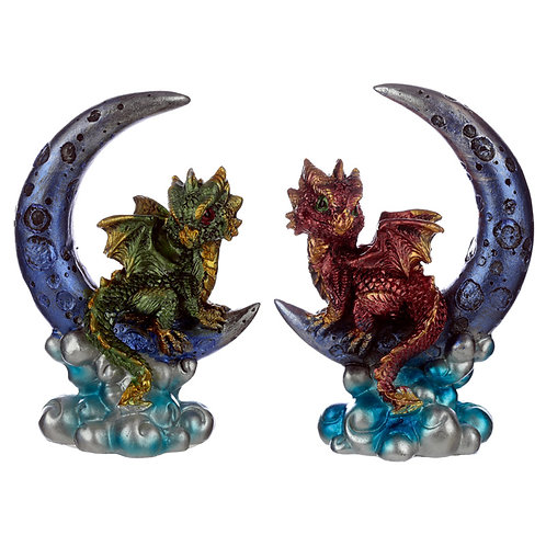 Elements Baby Dragon Moon Watcher Novelty Gift