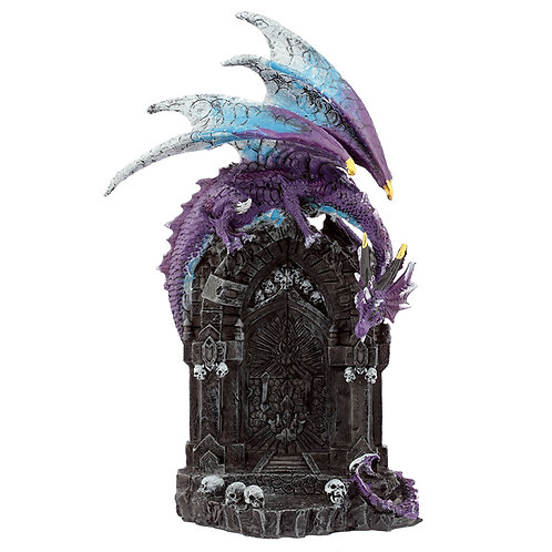 Gateway Guardians Dark Legends Dragon Figurine Novelty Gift