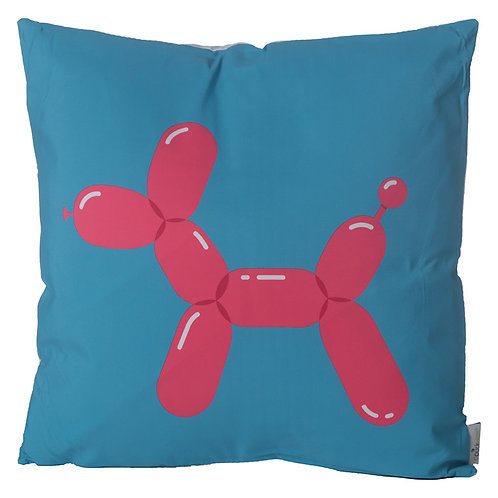 Decorative Cushion with Insert - Fun Balloon Animal Dog Novelty Gift