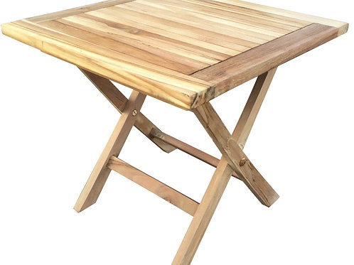 Sqaure Teak Picnic Table Shipping furniture UK