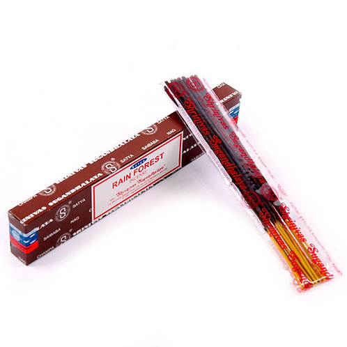 Satya Nag Champa Incense Sticks - Rainforest Novelty Gift